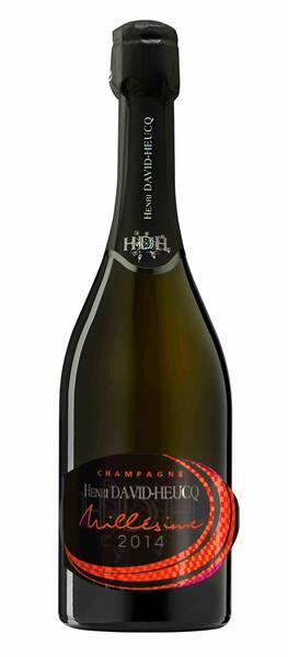 Champagne H. David Heucq - millésime - Blanc - 2014