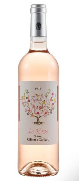 Château Gilbert & Gaillard - le rosé du château gilbert & gaillard - Rosé - 2019