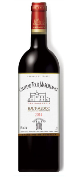 Chateau Tour Marcillanet - cru bourgeois - Rouge - 2014