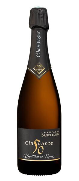 Champagne Daniel Collin - cinquante / 50, brut - Pétillant