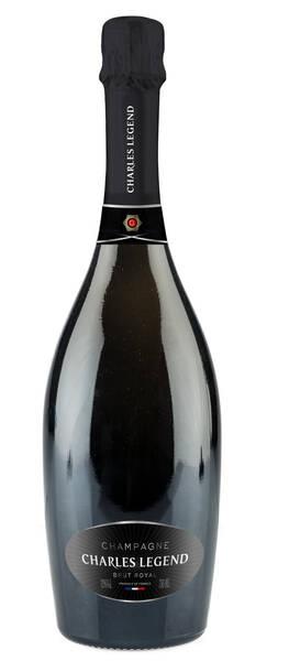 Champagne Charles Legend - cuvée brut royal - Pétillant