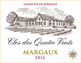 Vignobles des Quatre Vents - clos - Rouge - 2012