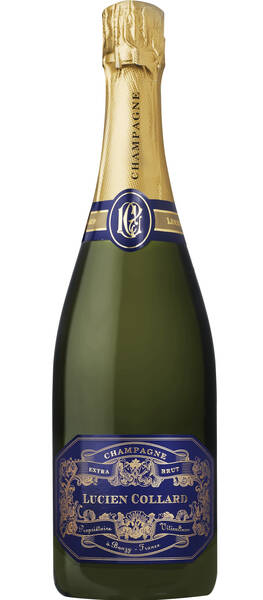 Champagne Lucien Collard - extra brut - Pétillant