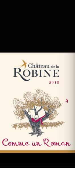Château de la Robine - comme un roman - Rouge - 2018