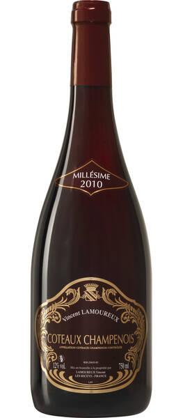CHAMPAGNE VINCENT LAMOUREUX - coteaux champenois - Rouge - 2014