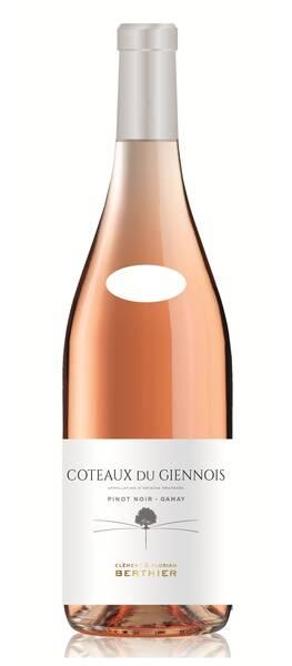 Vignobles Berthier - coteaux du giennois - clement et florian - Rosé - 2019