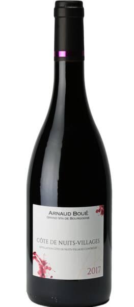 Maison Arnaud Boué - côte de nuits-villages - Rouge - 2017