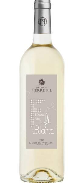 Domaine Pierre Fil - cousu de - Blanc - 2019