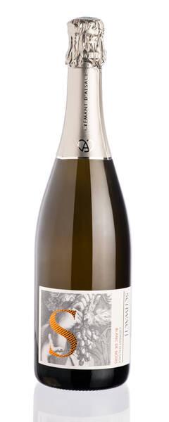 Domaine François Schwach - bulles de fête crémant blanc de noirs extra-brut - sans sulfites ajoutés - Pétillant