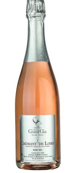 Domaine Du Grand Clos - crémant de loire rosé - Pétillant