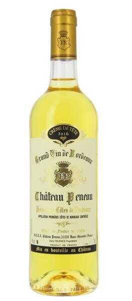 Château Peneau - crème de tête - Liquoreux - 2016