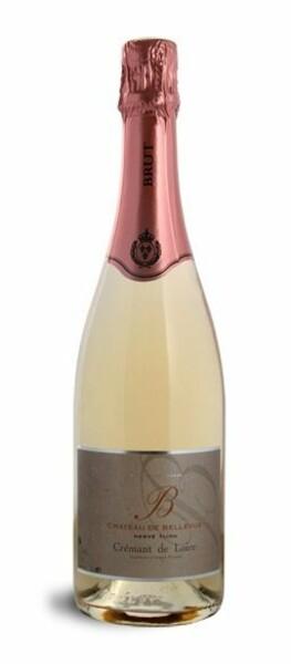 Château Bellevue - crémant de loire rosé - Pétillant