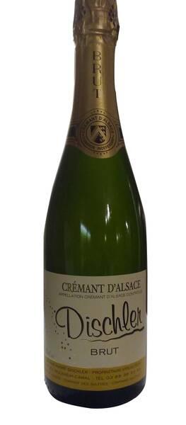 DOMAINE DISCHLER - crémant brut - Pétillant