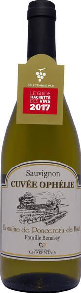 Domaine Poncereau de Haut - cuvée ophélie - Blanc - 2019