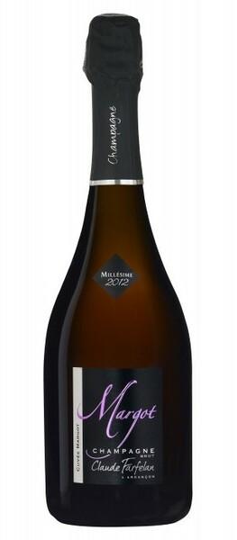 Champagne Claude Farfelan - cuvée margot millésime 2012 médaille bronze paris 2017 - Pétillant