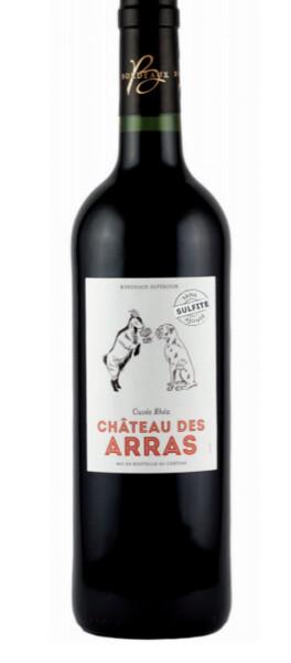 Château des Arras - cuvée rhéa sans sulfite ajouté - Rouge - 2017