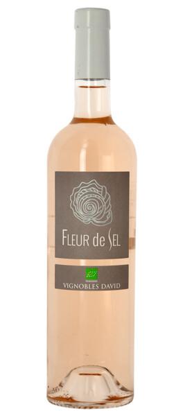 Vignobles David - fleur de sel  bio - Rosé - 2019