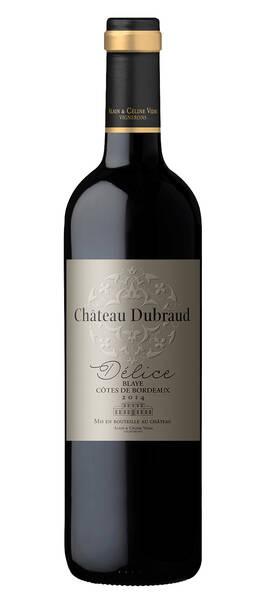 Château Dubraud     - délice de - Rouge - 2016