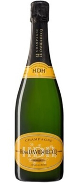 Champagne H. David Heucq - cuvée demi sec délicate - Pétillant