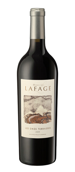 Domaine Lafage - onze terrasses - Rouge - 2015