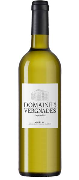 Domaine des Vergnades - cuvée sec - Blanc - 2018