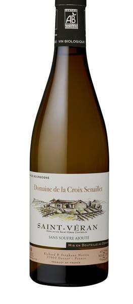 Domaine de la Croix Senaillet & Domaine du Mont Épin - saint-véran sans soufre ajouté - Blanc - 2016