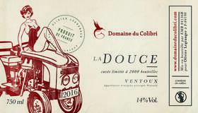 Domaine du Colibri - la douce - Rouge - 2017