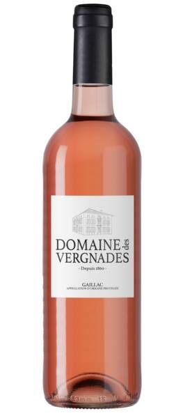 Domaine des Vergnades - cuvée - Rosé - 2020