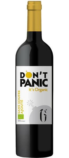 La Grangère - don't panic it's organic sans sulfite ajouté - médaille d'or à montpellier 2020 - Rouge - 2019