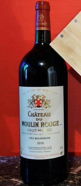 Château du Moulin Rouge - magnum 1.5 l  en caisse bois - Rouge - 2017