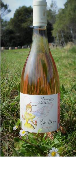 Domaine de Villeneuve - bee happy cinsault - Rosé - 2019