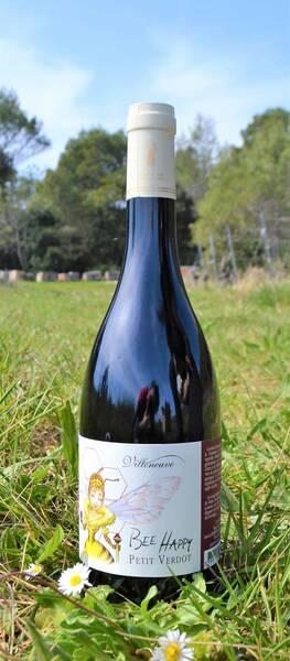 Domaine de Villeneuve - bee happy petit verdot - Rouge - 2019
