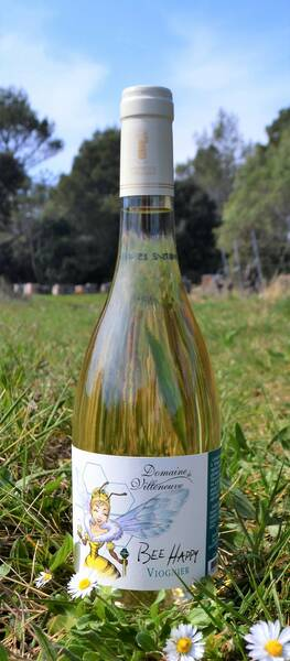 Domaine de Villeneuve - bee happy viognier - Blanc - 2019