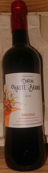 Château Haute Brande - bergerac - Rouge - 2019
