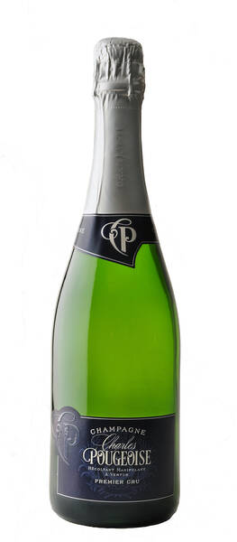 Champagne Charles Pougeoise - brut - Blanc