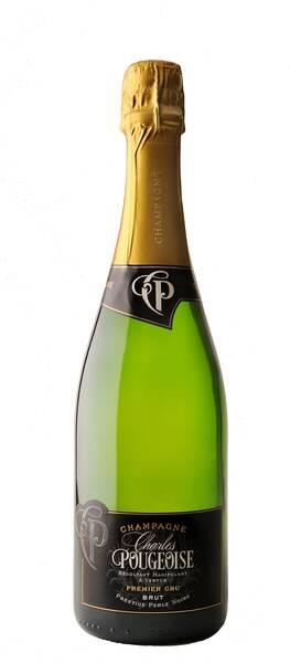 Champagne Charles Pougeoise - cuvée prestige perle noire - Blanc