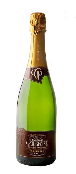 Champagne Charles Pougeoise - cuvée grande réserve - Blanc