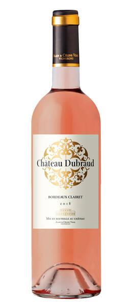Château Dubraud     - clairet - Rosé - 2018