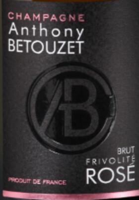 Champagne Anthony BETOUZET - brut rosé frivolité - Pétillant