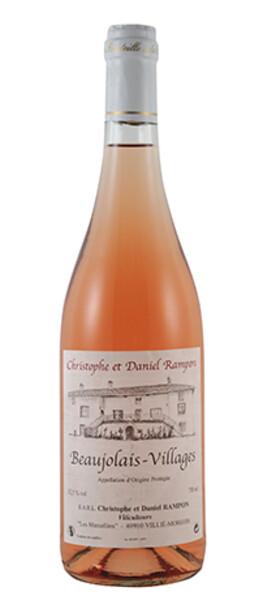 Domaine Christophe et Daniel Rampon - beaujolais villages - Rosé - 2019