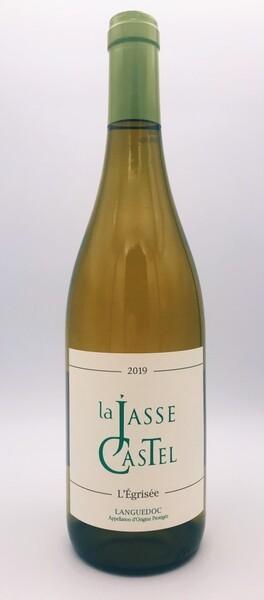LA JASSE CASTEL - l'égrisée - Blanc - 2019