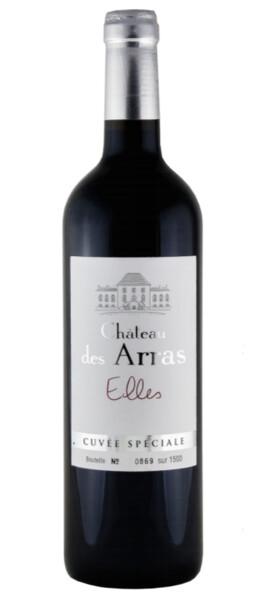 Château des Arras - cuvée elles - Rouge - 2015
