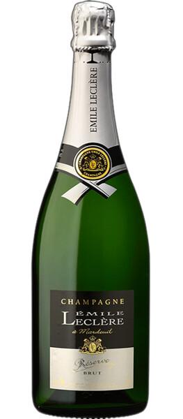 Champagne Emile Leclere - brut reserve - Pétillant