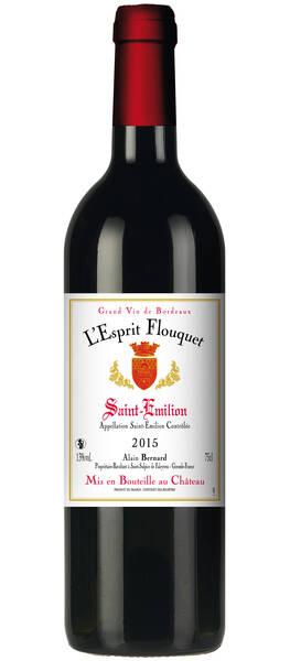 CHATEAU FLOUQUET INVICTUS - l'esprit - Rouge - 2015