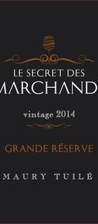 Le Secret des Marchands, Vin doux naturel, AOP Maury 2014