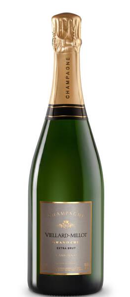 Champagne VIELLARD-MILLOT - extra-brut - Pétillant