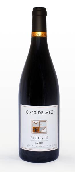 CLOS DE MEZ - la dot - Rouge - 2013