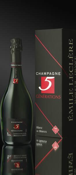 Champagne Emile Leclere - generation 5 - Pétillant