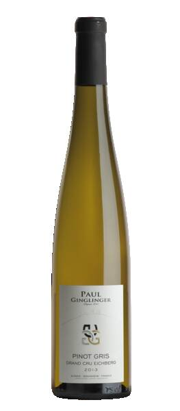 DOMAINE PAUL GINGLINGER  - pinot gris grand cru eichberg - Blanc - 2015