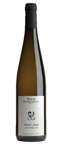 DOMAINE PAUL GINGLINGER  - pinot gris les prélats - Blanc - 2019